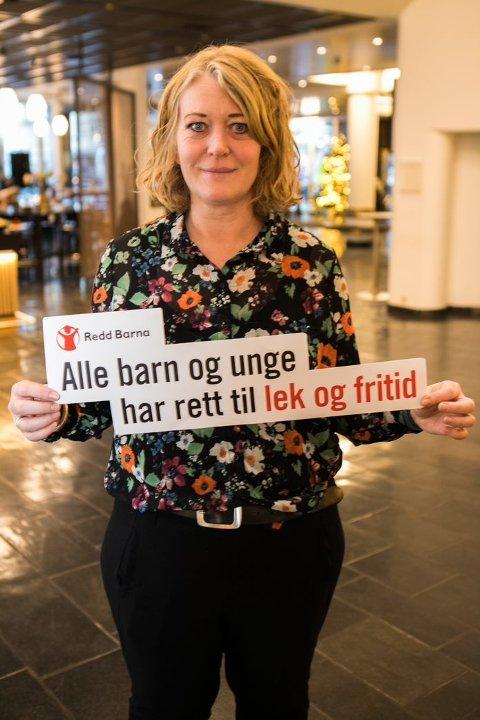 Ane Aamodt, kampanjeleder i Redd Barna.