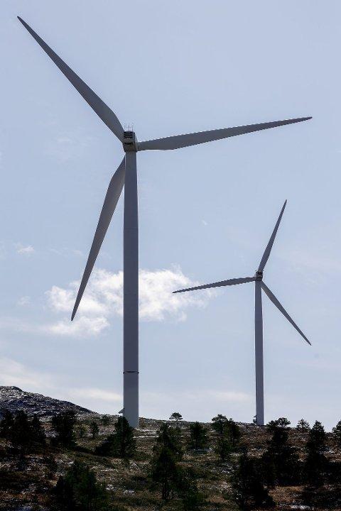 BYGGER UT: Akershus Energi - i samarbeid med KLP - har vedtatt å bygge ut Songkjølen og Engerfjellet vindkraftverk i Nord-Odal. Ved årsskiftet 2021-2022 skal anlegget stå klart til drift.