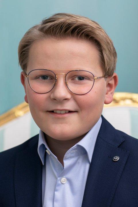 Bilde av prins Sverre Magnus, publisert i anledning prinsens 13-årsdag, 3. desember.
