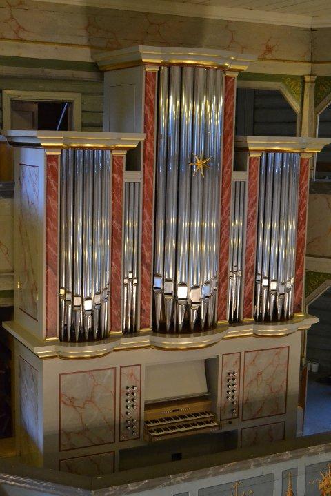 Det nye orgelet i Jevnker kirke ble innviet i september 2017