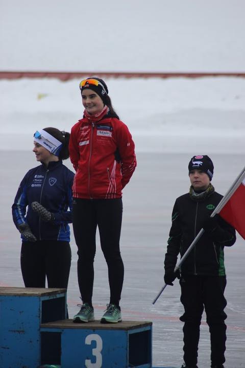 OPPTUR: Landsmesterskapet var en stor opptur for Guro Ruden Brørby, etter mye motgang de to siste åra. Foto: Privat