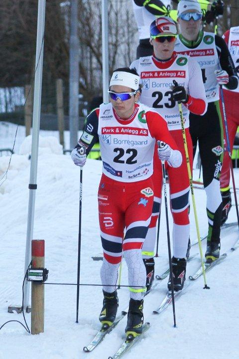 GIKK BRA: Petter Stokkeland var en av tre TFL'ere som tok seg til semifinale i Kulåssprinten tirsdag kveld.