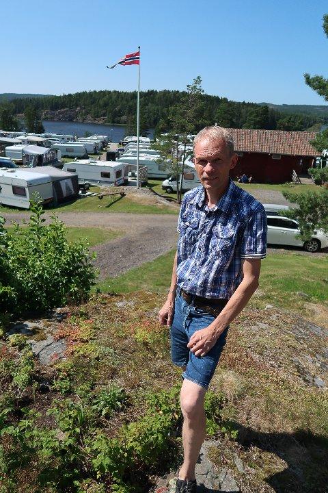 DAGLIG LEDER: Vidar Førrisdahl-Johansen har lange, givende dager på Fangekasa.