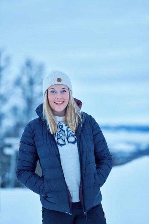 Ricke Celine Sandø Jessen (29) fra Bergen flyttet til Odda i 2017 og jobber nå i Kirkens Bymisjon.