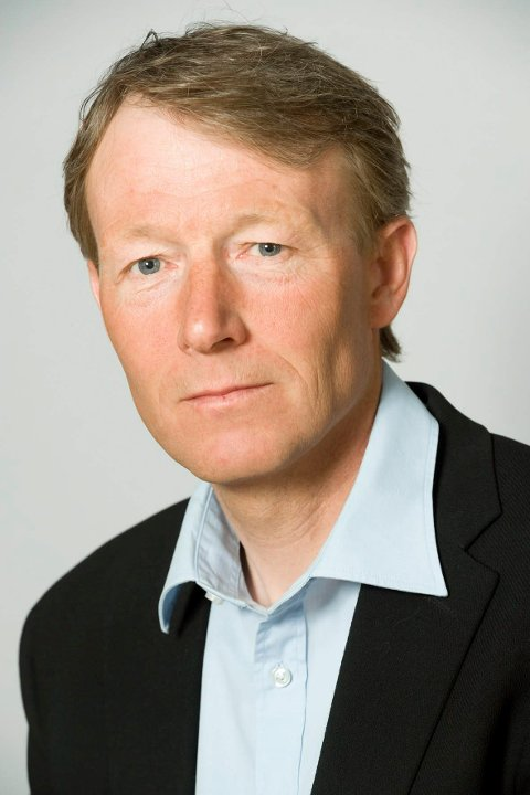 Tom Petter Johansen,  fabrikksjef ved Hydro Karmøy.