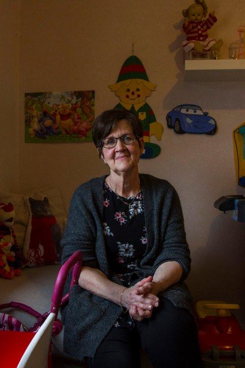 DELER: De som hadde erfaring med å være  beredskapshjem hjalp Marit Kvalheim Heien da hun begynte i jobben.