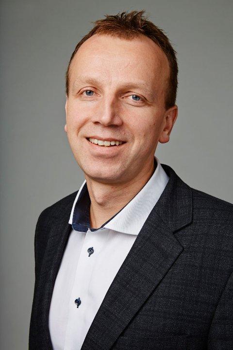 Bjørn Arild Thon, administrerende direktør i gjenvinningsselskapet RENAS