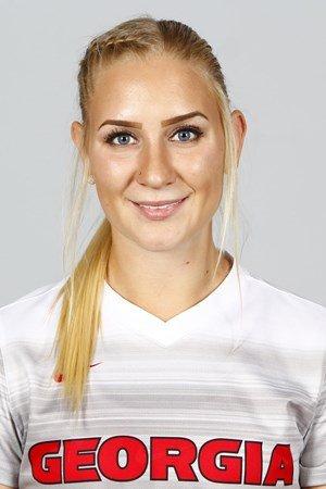 NY AVALDSNES-KEEPER: Svenske Louise Högrell kommer fra universitetsfotball i USA.