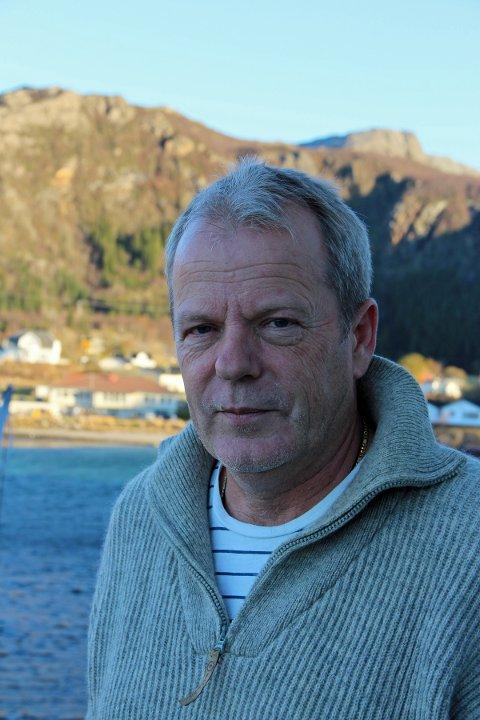 Lensmann i Lurøy og Træna, Kjell Ivar Vestå. Foto: Lars Olve Hesjedal