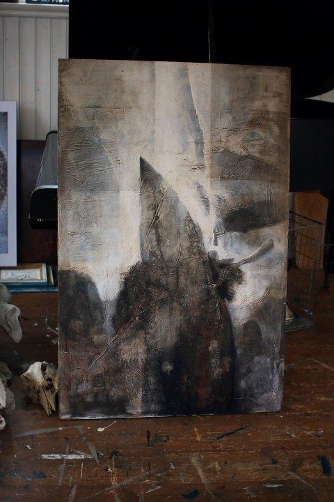 Former fra ting han har rundt seg og blir inspirert av kan gjenfinnes i bilder Hugo Aasjord arbeider med.