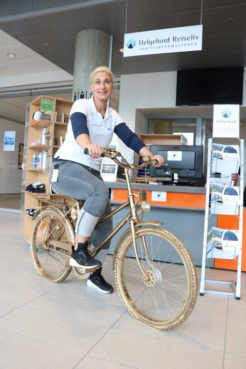 Randi Andersen, regionsleder for Helgeland reiseliv.