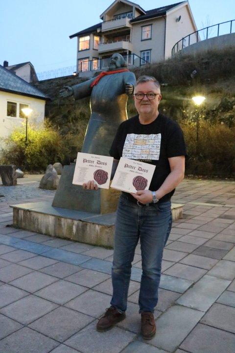 Bøkene til Kåre Hansen kommer i 1.500 eksemplarer. De to bindene er tilsammen på over 600 sider, og er bygget opp med illustreringer og bildetekster.