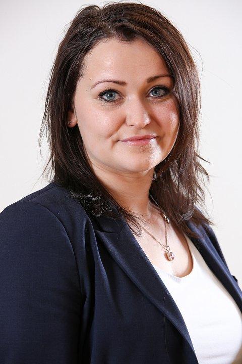 KOMMER: Statssekretær Veronica Pedersen Åsheim fra Nærings- og Fiskeridepartementet.