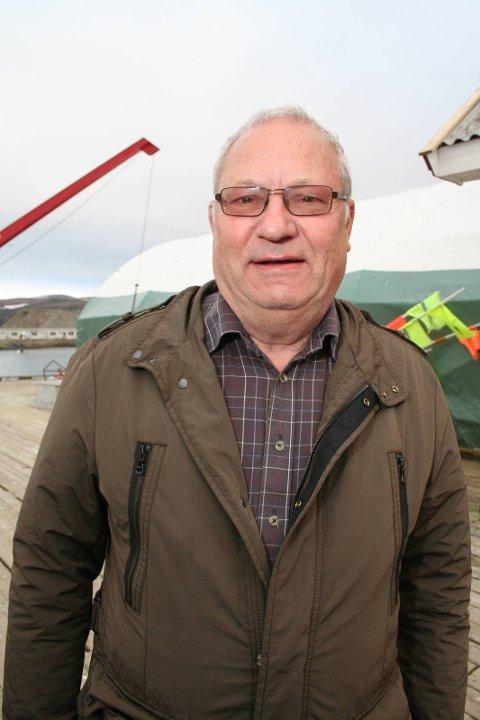 I GANG MED FORSTUDIE: Kjell-Olaf Larsen er en av flere personer som ser på et forstudie som kan gi en ny fiskeribedrift i Båtsfjord.