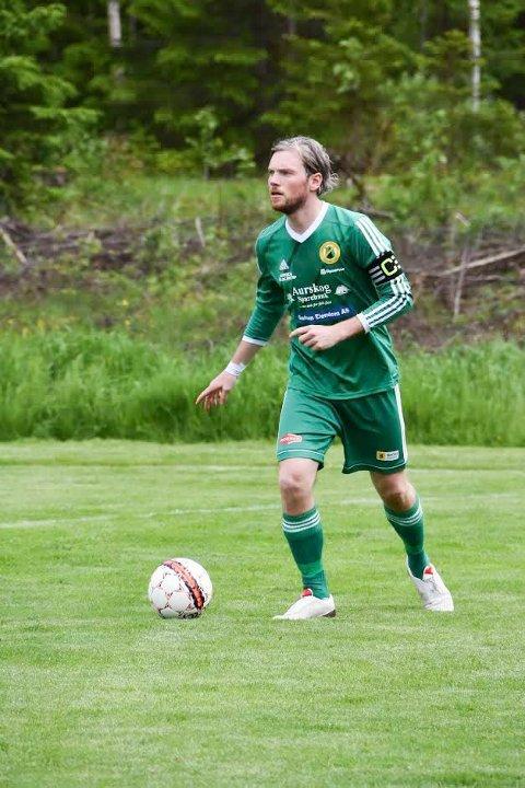 FRA GRØNT TIL RØDT: Tidligere AFSK-kaptein forlater den grønne skuta og skal spille for Blaker i år. FOTO: TRYM HELBOSTAD