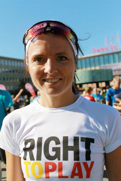I FORM: Jeanette Vika imponerte da hun løp maraton i Trondheim og Ålesund på samme helg. Lørdag venter 73-kilometer i Oslo-Trippelen.