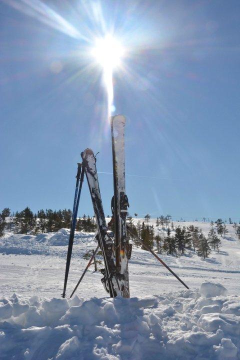 Mot slutten av vinterferieuka blir det stor sol i vårt distrikt.