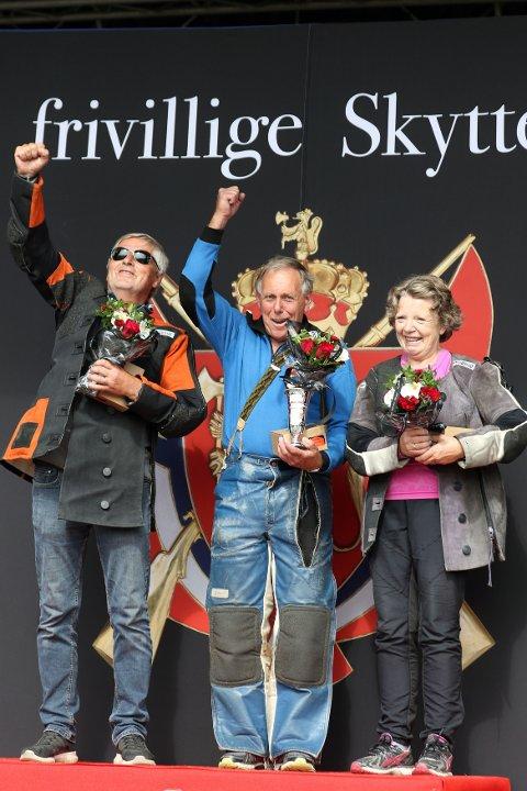 På årets aller siste LS-øving vann Knut Dalland gullet.
