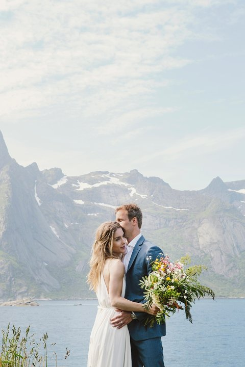 Årets bryllup- gull: Bryllup fra Lofoten av Nadia Norskott.
