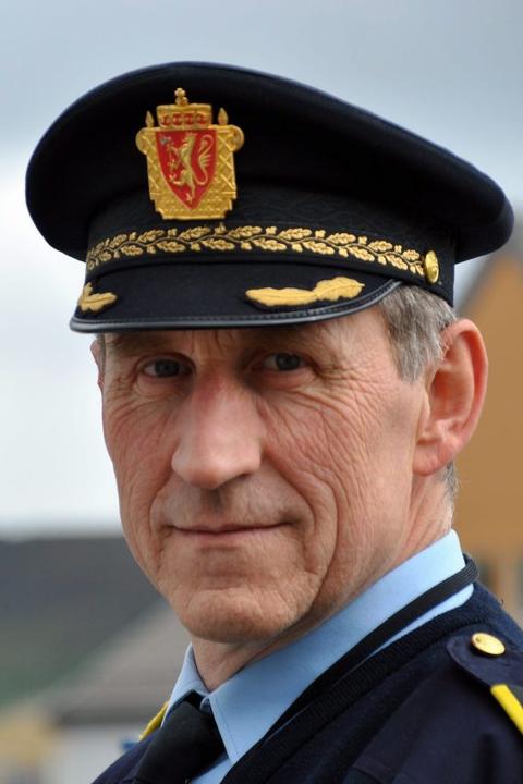 Lensmann Asbjørn Sjølie.