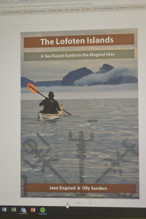 Bokaktuell: Her er  forsiden av boka som Jann-Harald Engstad skal gi ut om fjorten dager. Den selges i aktuelle bokhandlere eller i kajakkmiljøet i inn- og utland.
