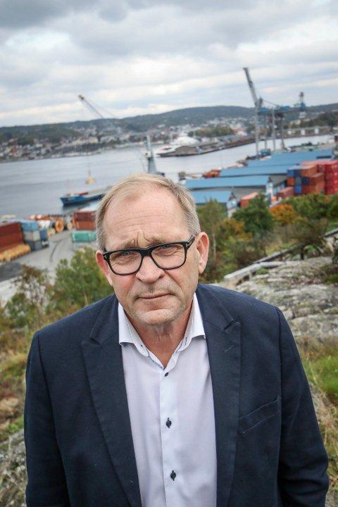 GIR SEG: Trond Martinsen, grunnleggeren av Ny kurs, søker om fritak fra vervet som medlem av det nye Moss kommunestyre.
