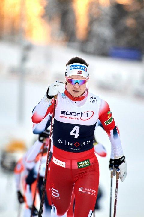 GÅR FOR VM-PLASS: Ane Appelkvist Stenseth fra Grong er som ventet tatt ut til helgas verdenscup i Falun. Nå går hun for VM-plass.