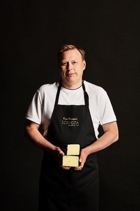 RAMPETE OST FRA NAMSOS: Synnøve Finden i Namsos satser på smaksrike oster, og har med osten Rabagast i årets NM. – Vi leker med ulike kulturer og prøver å få frem enda flere spennende oster, sier Rune Rædergård, sjefsyster i Synnøve.