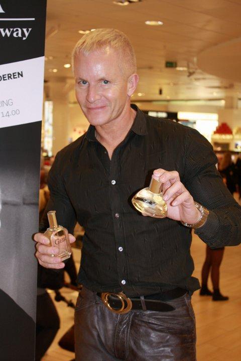 Norgesaktuell: Geir Ness er kommet til Norge fra L.A. for å promotere parfymene sine, Geir og Laila, og hudpleieserien sin her hjemme.