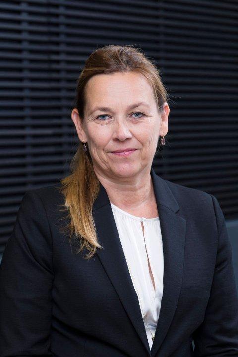 REGIONDIREKTØR: Hilde Vatne, regiondirektør for JM i Oslo. (Pressefoto)