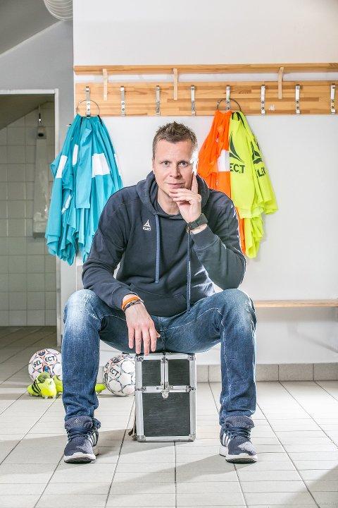 Morten Pedersen har fotballfri sommer i møte  - for første gang på over 30 år. Foto: Torgrim Rath Olsen