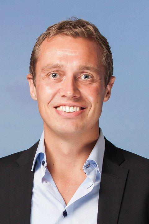 Christian Chramer, regiondirektør i NHO Troms og SDvalbard