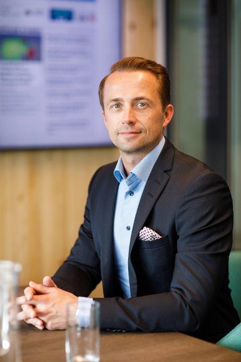 I BUSINESSANTREKK: André Lavold, styremedlem og medeier i Catena Media.