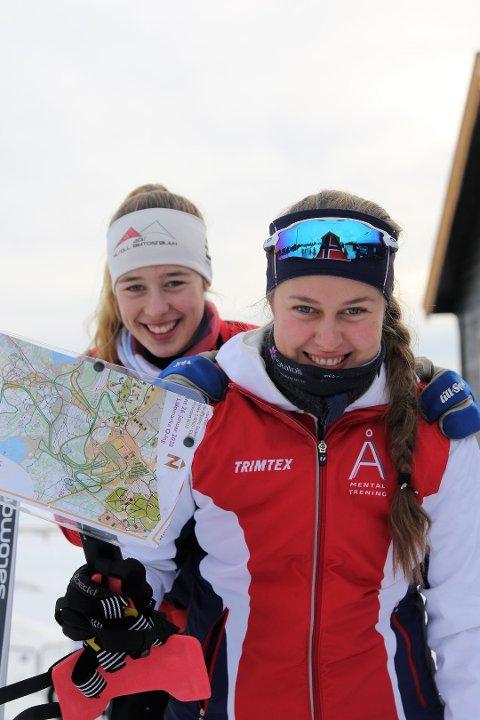 SØSTER-DUO FOR NORGE: Kristin og Marit Melby Jacobsen fra Svarstad er begge tatt ut på landslag kommende sesong.