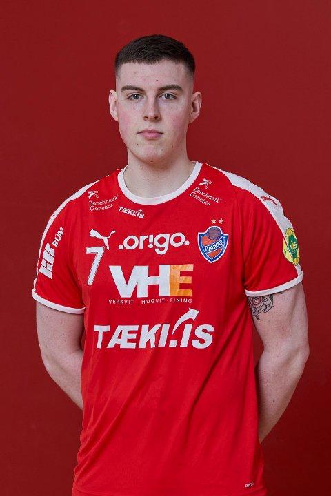 TIL ELVERUM: Orri Freyr Thorkelsson er spilleren som skal erstatte Alexander Blonz på venstrekanten de neste to sesongene.