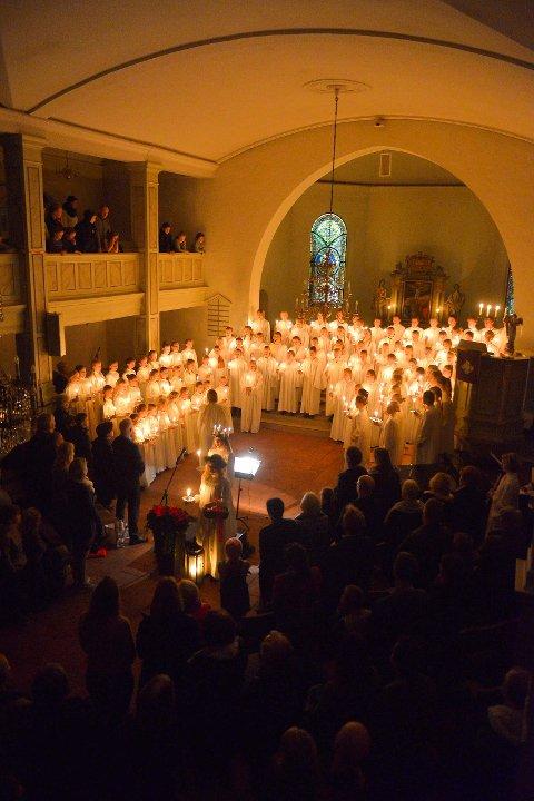 Korskolens luciakonsert
