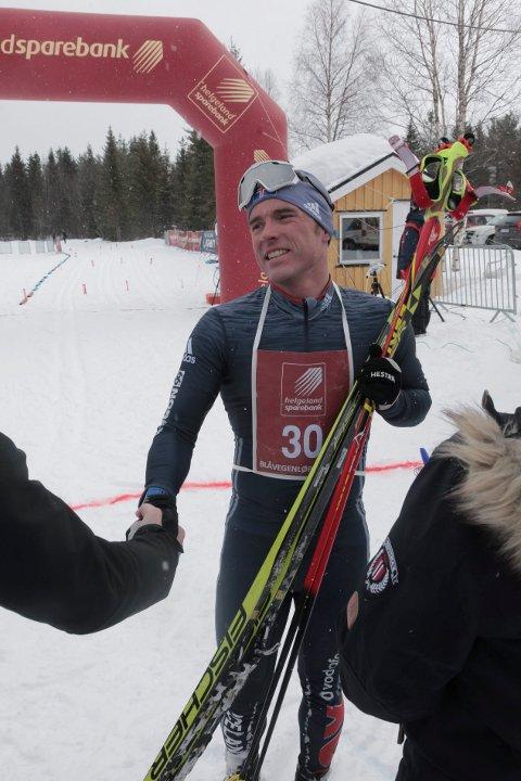I herreklassen var det Snorri Einarsson fra Tromsø Skiklubb som kom først i mål. Sluttida ble på 2,01,13.