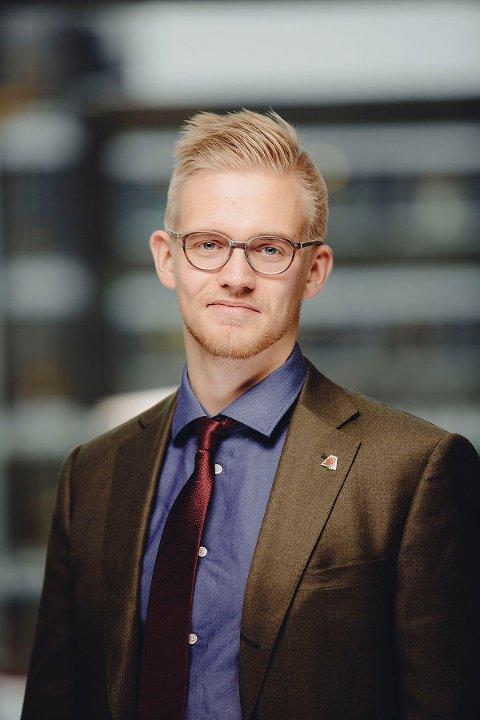 Brage Larsen Sollund, distriktssjef i Kreftforeningen.