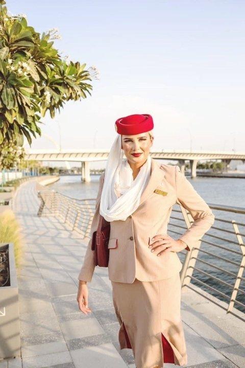 Frida Elise Høgås har bodd i Dubai, men har nå gitt opp byen foreløpig da hun har skjønt at det ikke blir mer jobb der med det første.