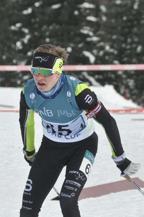God: Bastian Skutbergsveen gikk sisteetappen for Hedmarks lag 1.