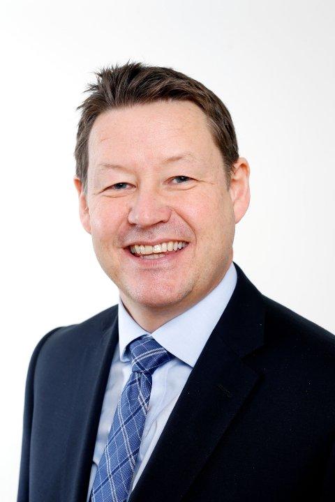 VALG 2019: Lars Birger Salvesen (KrF), fylkesvaraordfører Akershus og Viken-kandidat.