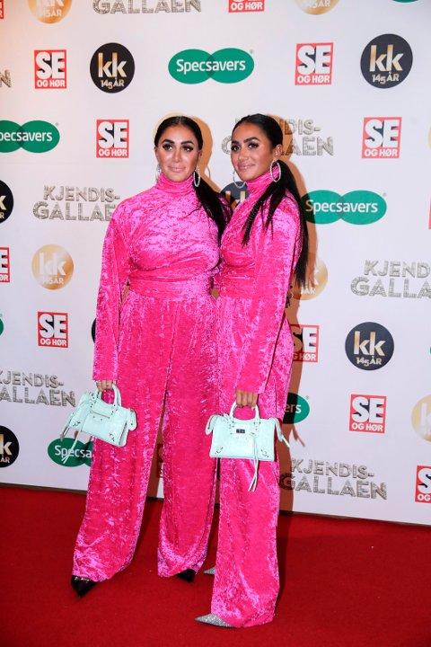 URETTFERDIG: Kjendis-tvillingene Vita og Wanda Mashadi fra Lillestrøm mener seg urettferdig behandlet av en anonym Instagram-konto som har lagt ut uredigerte bilder av dem.