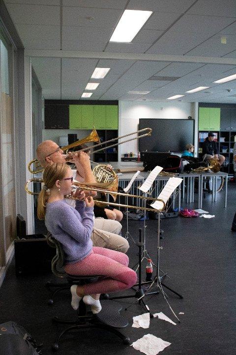 Sommerskolen samlet 30 musikkglade deltakere.