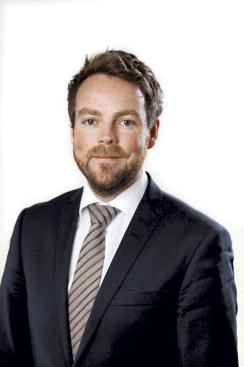 HAR TRUA: Næringsminister Torbjørn Røe Isaksen (H) med rosende omtale av biodrivstoffplaner på Tofte.Foto: regjeringen