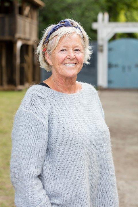 GLEDER SEG: Anne Berit Holden har litt sommerfugler i magen foran premieren på årets sesong av «Anno».