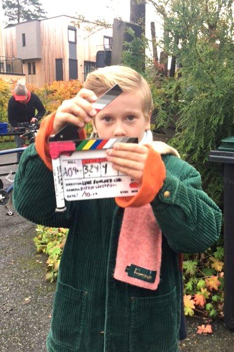 ACTION: Ask Henrik Oftedal under innspillingen av det som blir TV-serie til høsten.