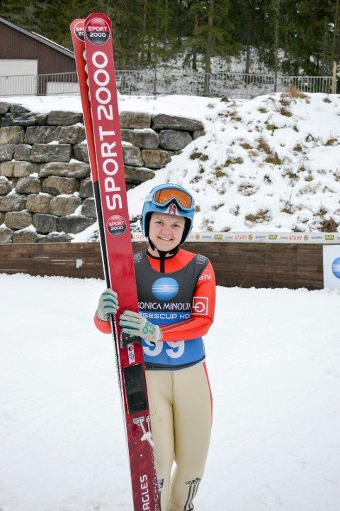 VM-klar: Skihopper Karoline Skatvedt skal til junior-VM i Sveits til uka.