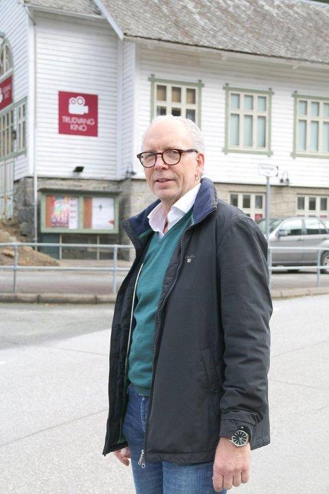 Terje Horvei mange tek turen til Trudvang kino på kinodagen. (Arkivfoto)