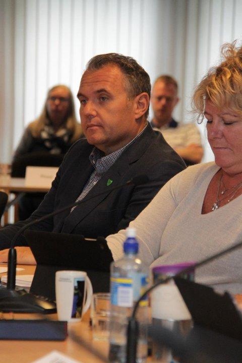 Bjarte S. Dagestad ville utsetja saka til Nye Sandnes hadde avgjort om dei ville vera med på samarbeidet etter 2020. Det var ingen som støtta utsetjinga. Dagestad røysta då imot forslaget om å vidareføra Ryfylkefondet. (Arkivfoto)