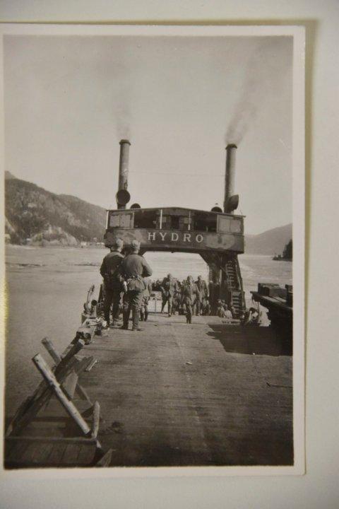 DF Hydro og tyske soldater